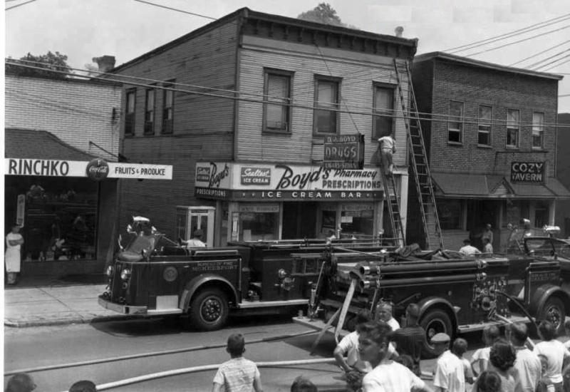 MBF on scene circa 40s-50s